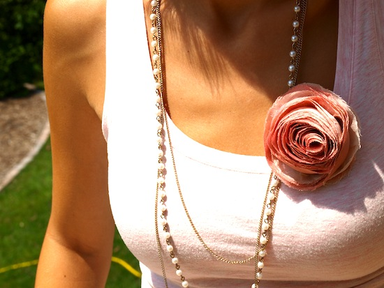 JCrew Rose Pin