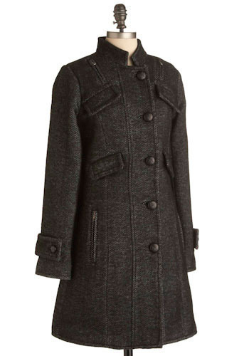ModCloth Brave the Storm Coat