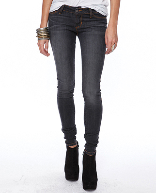 Cheap 5-Pocket Stretch Jeggings From Forever 21