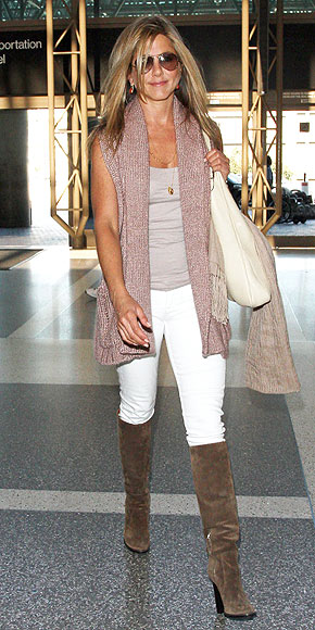 Inspiration Jennifer Aniston Style
