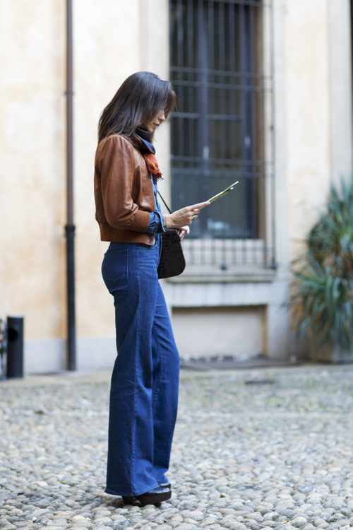 The Sartorialist Flared Jeans