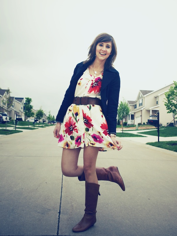 Summer Lovin' Floral Dress