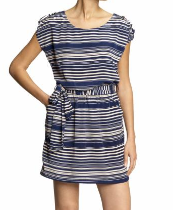 Lush Striped Dress