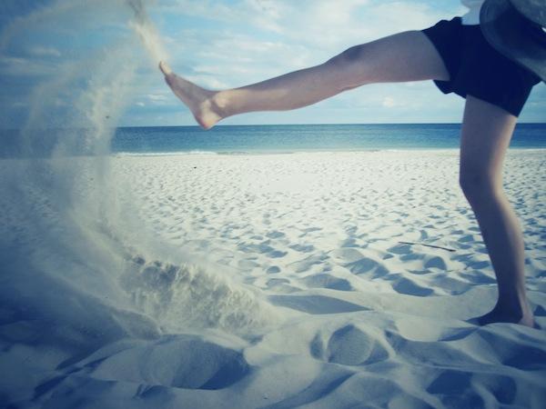 Sand Kick