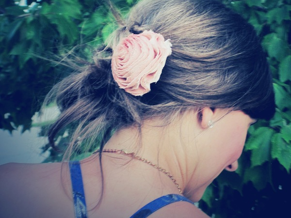 JCrew Hair Flower