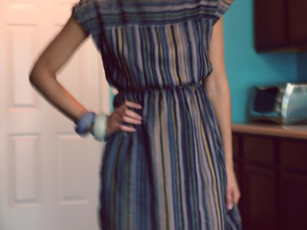 barletta lucca striped dress