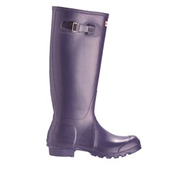 Aubergine Hunter Wellies