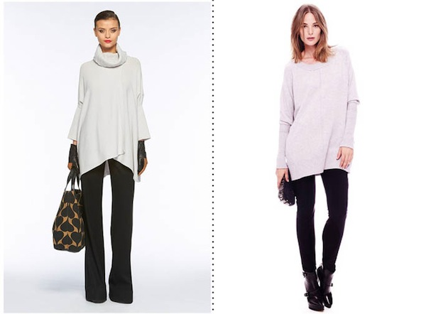 Tunic Length Sweaters To Wear With Leggings - Cashmere Sweater England
