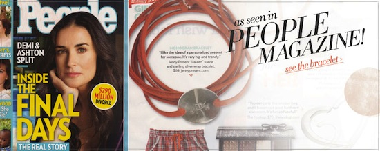 People Magazine - Jenny Present