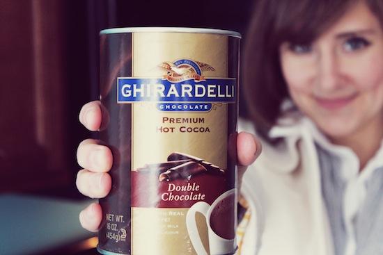 Ghiradelli Hot Chocolate