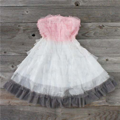 Tiers & Tulle Party Dress in Pink