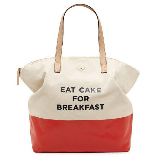 Kate Spade Eat Cake For Breakfast
