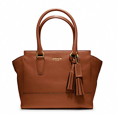 Coach Leather Candace Carryall