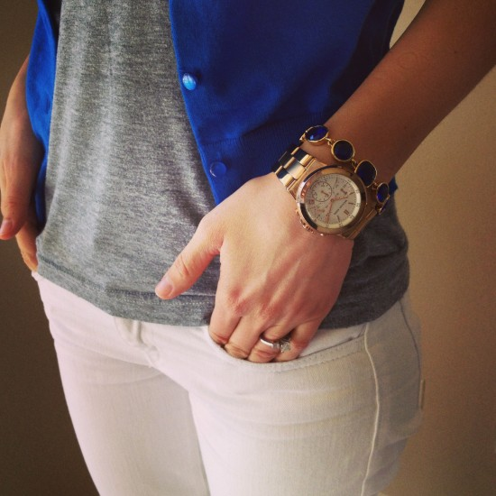 American Eagle White Denim