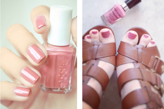 Neutral-Pink-Nail-Polish