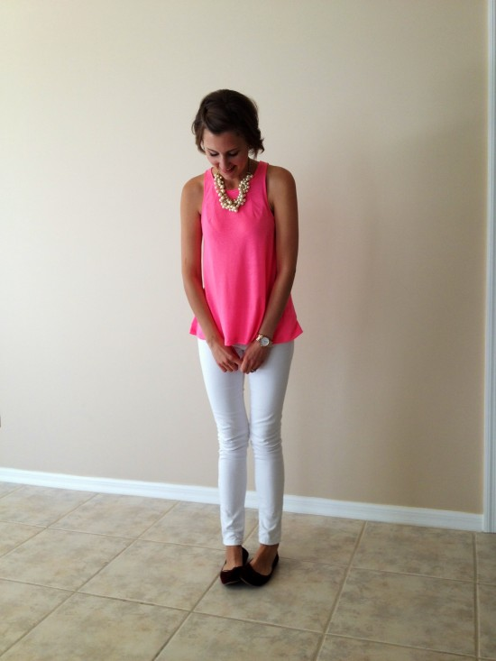 Bright Pink Top