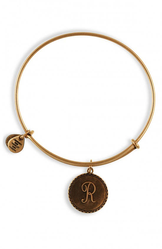 Alex and Ani Initial Bracelet