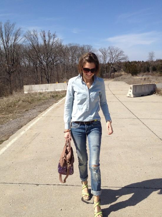 Blank NYC boyfriend jeans
